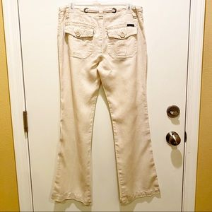 Anthropologie Pants - 🎉Sanctuary Beachcomber 100% Linen Pants in Cream